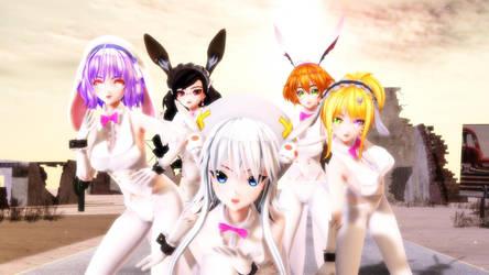 Rabbit Gang1 by ChrisMMD
