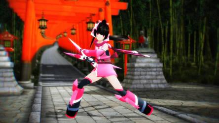 Shirabe Ninja Gear by ChrisMMD
