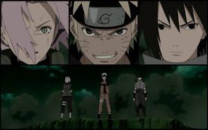Team 7 - Naruto Shippuuden 372 by ng9
