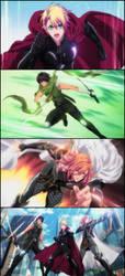 Strong - Utapri Avengers by ng9
