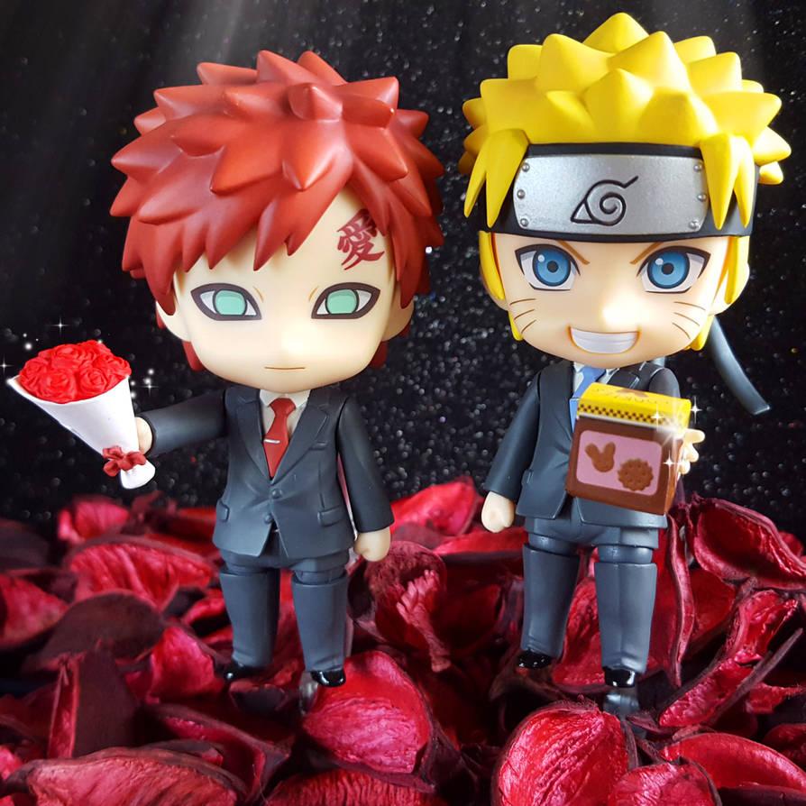 Gaara and Naruto - happy valentine's day by ng9