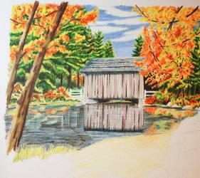 Autumn Romance WIP by Haydaad