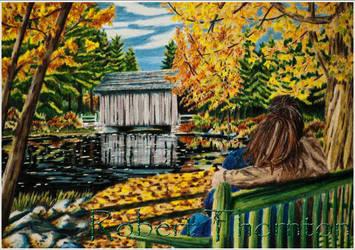 Autumn Romance by Haydaad