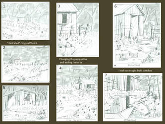 Sketching Process by Haydaad