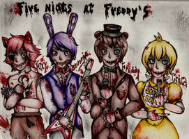 .:Five nights at Freddy's:. by VampireQueen-21302
