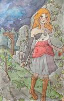 Maya, the melancholic witch by Kyroda