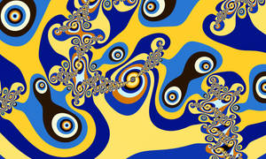 Fractal Abstract Miro by Ander-Cesteros