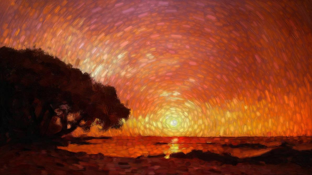 Beach Tree by Ander-Cesteros
