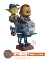 Chew's The Force by patrickballesteros
