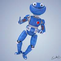 GEO - funny robot by LubomirCenovsky