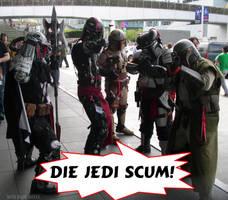 Die Jedi Scum - Mandolorians by SurfTiki