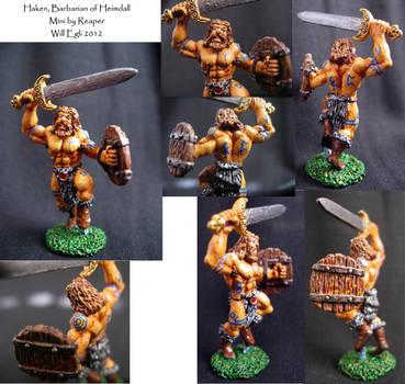 Haken, Barbarian of Heimdall - Viking by SurfTiki