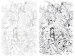 AOD Cover #1 unused Juxapose - Bradshaw - Egli by SurfTiki