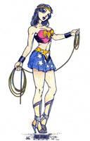 Wonder Woman Classic Sexy by SurfTiki