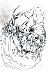 Wolverine - Pant - Egli - Inks by SurfTiki