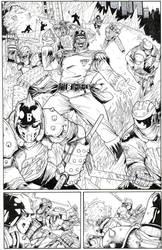 SUPER! #2 Pg 2 page Ink test - Dolan - Egli - by SurfTiki