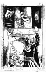 Conan: ROK #8 Page 9 - Hawthorne - Egli - Ink by SurfTiki