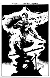 Psylocke - Philip Tan - Egli - Inks by SurfTiki