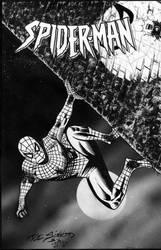 Spider-man 2015 Joe Sinnott Inkwell Charity - Egli by SurfTiki