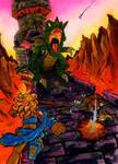 Chrono Trigger - FINAL FIGHT - Nate - Egli - Color by SurfTiki
