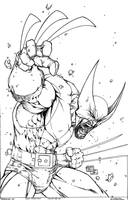 Wolverine - Turner - Egli - Inks by SurfTiki
