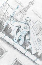Commission - Mark as Hero JB LV - Pencils - Egli by SurfTiki