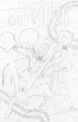 Dr. Strange Pencils - Sinnott - Egli - by SurfTiki