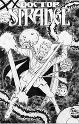 Dr.Strange - Sinnott - Egli - Inks by SurfTiki