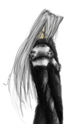 Sephiroth, QuickPainting by Teici