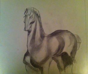 Class- Small-Headed Horse Figure by GlupayaSova