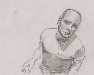 Hannibal Lecter Uncolored by GlupayaSova