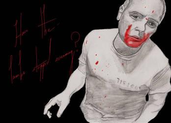 Hannibal Lecter Colored-ish by GlupayaSova