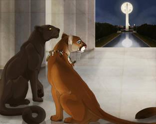 Washington Monument by Plaguedog