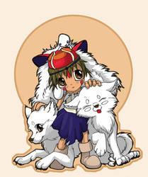 Chibi Mononoke by Plaguedog