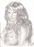 Wonder Woman by Alex Miranda by dagame2578