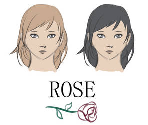 Rose Character Design by Azuria649