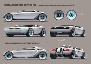 Delorean DMC-12 unofficial 2012 concept by joulester