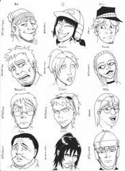 The Survivors of DD p2 by Zerahoc