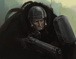 Old Guns by Zerahoc