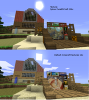 Minecraft Texture Difference by PotHeadJesus