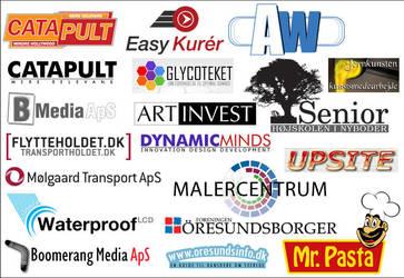 Logos by tilt-dk