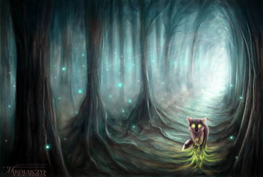 Soul of the forest. by Safiru