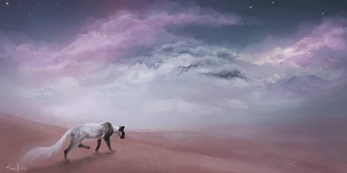 She is Dreaming by Safiru