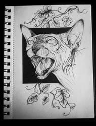 Inktober. Day 1. Poisonous by Safiru