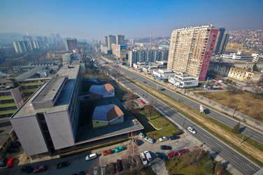 Sarajevo Rooftops -1- by villewilson