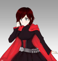 Ruby Rose from RWBY by Levtor