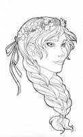 LA: Anna of Arendelle by rakerumcr