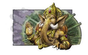 Ganesha by dualpath