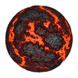 Scorching Hot Planet | Transparent Space Stock by LapisDemon