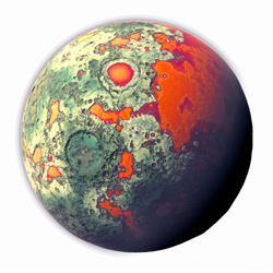 Moon strange Vegetation | Transparent Space Stock by LapisDemon